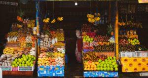 Frutas em Chinês